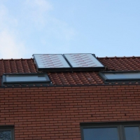 Zonnekollektor voor SWW
